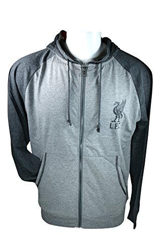 r Light Front Jacket Sweatshirt Official License Soccer Hoodie Medium 007 (Embroidered Soccer Sweatshirt)
