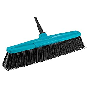 GARDENA combisystem Road Broom: Stable broom for the garden and the paths around the house, 45 cm working width…