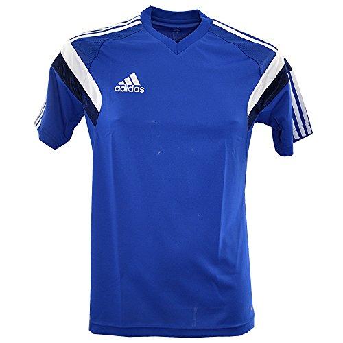 Adidas performance-maillot LIC TRG Jsy P bleu-blanc d85439, unisex, blu, S