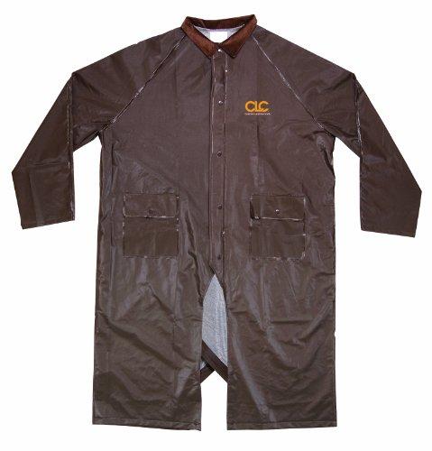 (Custom Leathercraft R17X2X Brown PVC Riding Slicker, XL/2X)