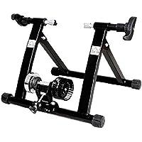 Home Trainer pour vélo vélo Route vélo vélo d'appartement Rouleau Noir