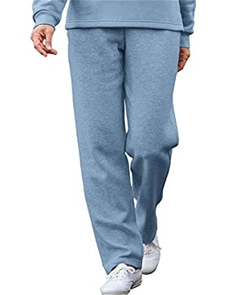 National Pull-On Lightweight Fleece Pants, Blue, Small