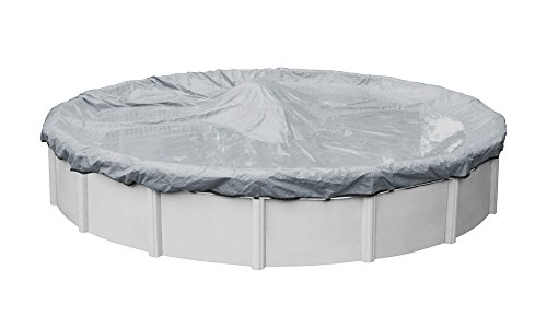 (Robelle 3015-4 Ultra Winter Pool Cover for Round Above Ground Swimming Pools, 15-ft. Round Pool)