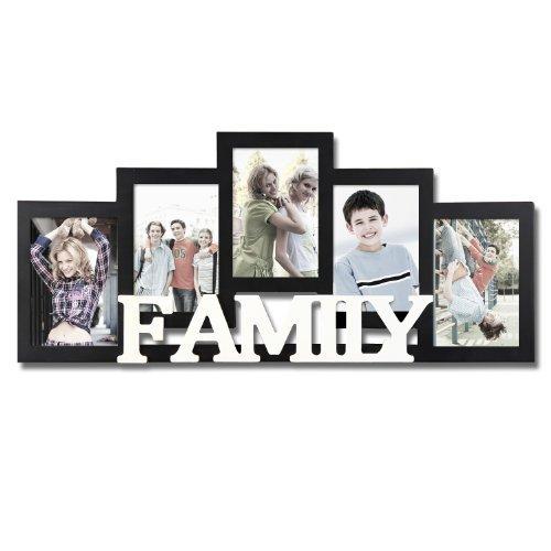 Amazon.com - Adeco Decorative Black and White Wood \'\'Family\'\' Wall ...