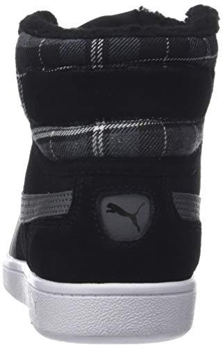 puma iron Puma 01 Para Mid Negro Vikky Mujer Gate Black Zapatillas Wtr Altas q48qrv
