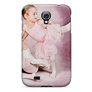 New Two Cute Ballerinas Tpu Case Cover, Anti-scratch Henrydwd Phone Case For Galaxy S4
