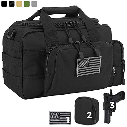 DBTAC Gun Range Bag Small | Tactical 2X Pistol Shooting