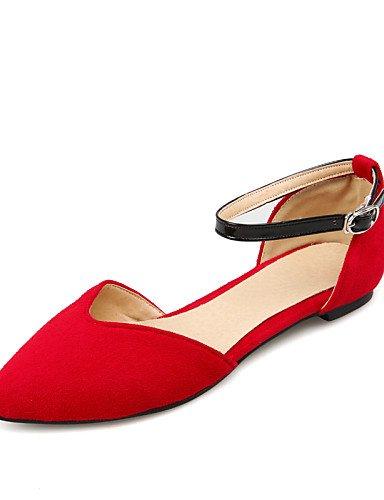 de uk4 amarillo señaló mujer cn36 azul de Soporte Toe Casual us6 tacones gris rojo zapatos talones blue PDX negro eu36 talón HtABfw