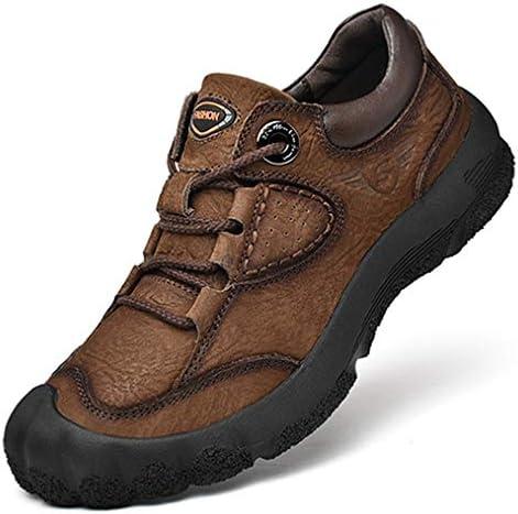 防滑 ハイキングシューズ メンズ 防水 トレッキングシューズ レースアップ ラウンドトゥ 耐摩耗ソール ウォーキングシューズ キャンプ シューズ スポーツ 通気性 カジュアル スニーカー快適 歩きやすい登山靴