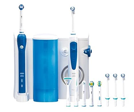 Centro Dental OXYJET CENTER OC20 3000 (Irrigador Dental Oxyjet + Cepillo eléctrico Recargable Professional Care