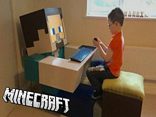 Homemade Minecraft Costume (5 Insane Real Life Minecraft)