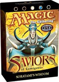 Deck Theme Kamigawa (Magic the Gathering MTG Saviors of Kamigawa Soratami's Wisdom Theme Deck)