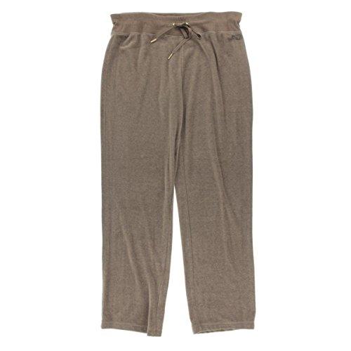 Velour Drawstring Pants - 9
