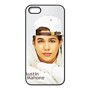 Austin Mahone Personalized 2D Cover Case for Iphone 5,5S at DLLPhoneCase ( DLL480458 )