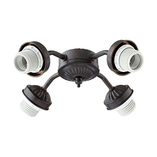 Quorum International Toasted Sienna Energy Saving Four Light Kit Mounting Hardware by Quorum