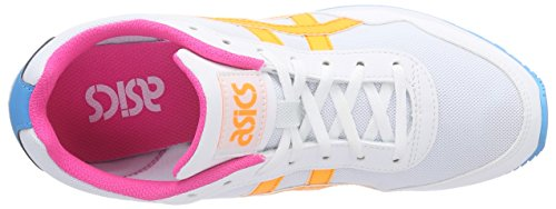 Curreo Mixte 0130 Blanc white Orange Adulte Basses pop White Baskets Asics dqZx7cAwRd
