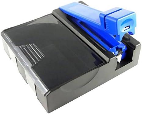 Starlet24® - Máquina para liar cigarrillos 2 en 1 para liar cigarrillos con caja de cigarrillos integrada: Amazon.es: Hogar