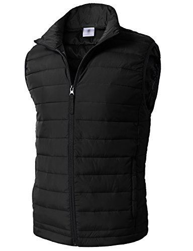 H2H Mens Fashion Casual Work Utility Hunting Travels Sports Vest Down Puffer Jacket