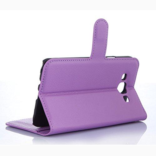 Funda Samsung Galaxy E7,Manyip Caja del teléfono del cuero,Protector de Pantalla de Slim Case Estilo Billetera con Ranuras para Tarjetas, Soporte Plegable, Cierre Magnético(JFC10-12) H