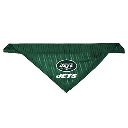 Littlearth New York Jets Dog Cat Mesh Jersey Bandana S/M