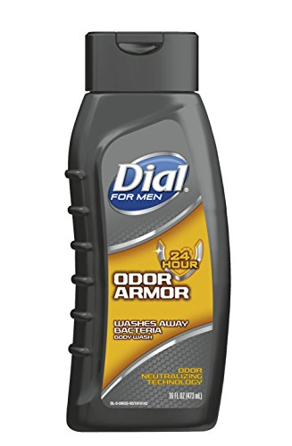 Dial For Men Body Wash, Odor Armor, 16 Ounce (The Best Body Armor Available)