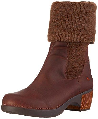 Art Zundert Wool, Botines para Mujer Marrón - Brown (Olio Brown)
