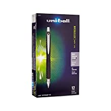 uni-ball Jetstream Rollerball, Retractable Roller Ball Pen Bold-1.0mm, 12 Pack, Black Ink (73832)