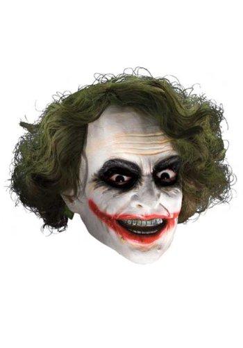 Batman Dark Knight Child Joker 3/4 Vinyl Mask with Hair