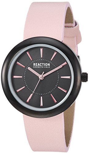 Kenneth Cole REACTION Women's Quartz Metal Casual Watch, Color:Pink (Model: RK50103003)