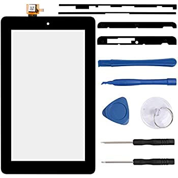 Amazon com: Touch Screen Digitizer Compatible with Amazon Kindle