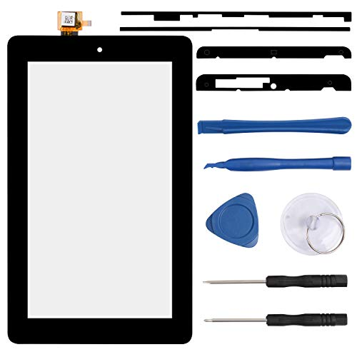 S-Union New Replacement Touch Screen Digitizer for Amazon Kindle Fire 7 5th SV98LN 7