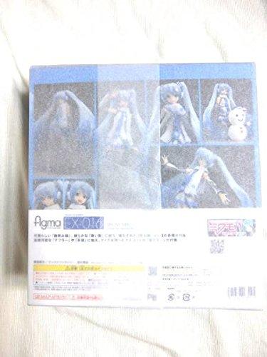 figma 初音ミク 雪ミク EX016 WF2014限定 フィギュア