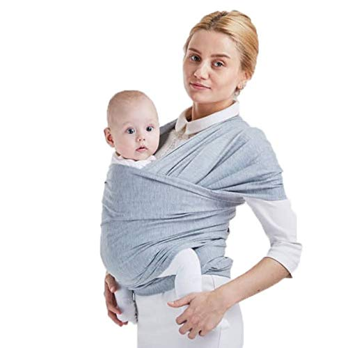 b27a46996a9 Privvi Baby Wrap Carrier - Ergo Infant - Baby Sling - Perfect for Newborn  up to