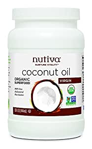Nutiva Organic Coconut Oil, Virgin, 15 Ounce
