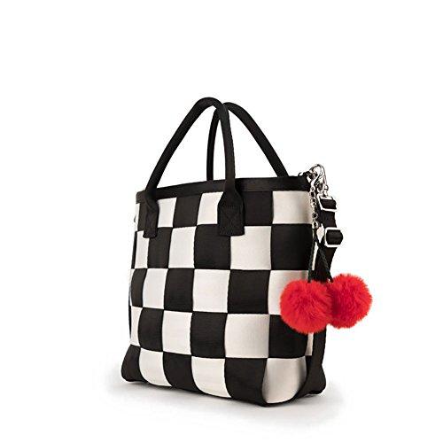 Harveys Seatbelt Bag Women's Crossbody Tote Cherry Check One (Check Nylon Tote Bag)