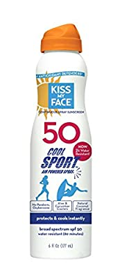 Kiss My Face Cool Sport Continuous Spray Natural Sunscreen