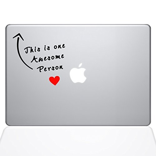 速くおよび自由な The Decal (1294-MAC-15X-NA) Guru Awesome 15 Person newer) Macbook Decal Vinyl Sticker - 15 Macbook Pro (2016 & newer) (1294-MAC-15X-NA) [並行輸入品] B0788JL775, WakWak:dac084ff --- a0267596.xsph.ru