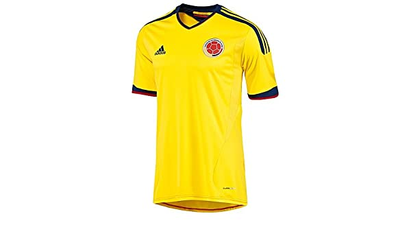 12ae89ccbc6bd Amazon.com : Adidas Colombia Home Jersey 2013 (M) : Soccer Jerseys ...