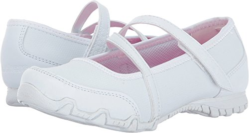 Skechers Kids Bikers II Campus Craze White Size 1.5 (Campus 2 Leather Shoe)