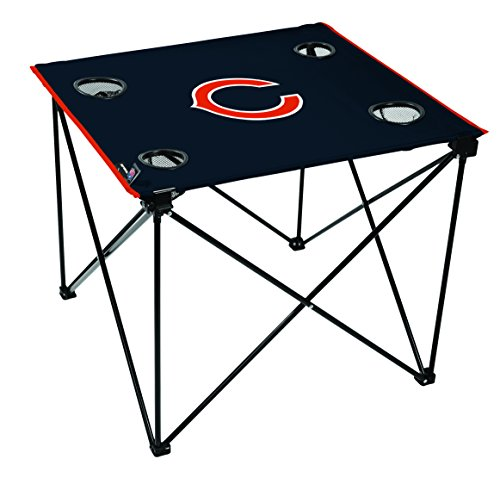 NFL Chicago Bears Unisex NFL OS Chibea TLG8 Delux Tablenfl OS Chibea TLG8 Delux Table, Blue, No Size (Chicago Bears Tailgating Table)