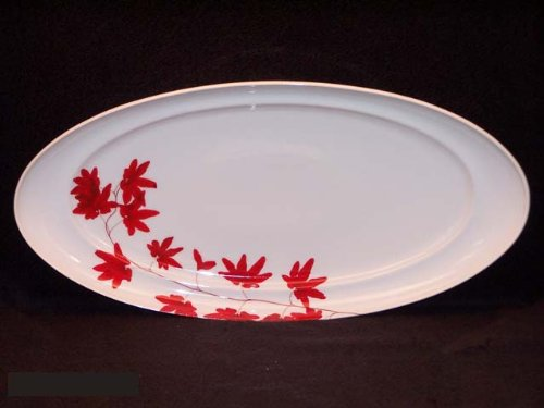 Mikasa Pure Red #SL 134 Platter Large