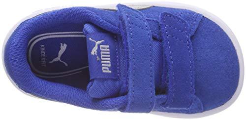 – Violet V Basse Blu Blue Smash Bambini strong Unisex V2 gray Inf Ginnastica Scarpe Sd Puma 11 Da vqawU88x