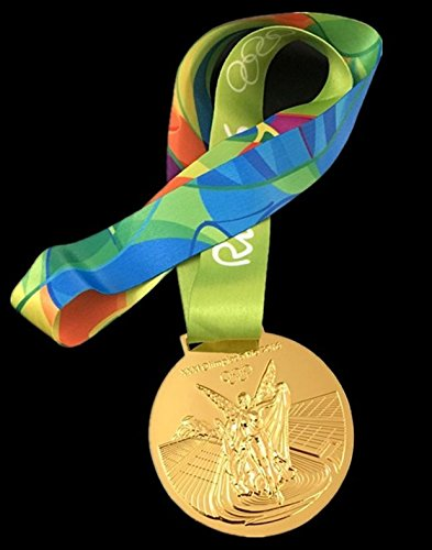 Memorabilia Olympic (2016 Olympic Games Rio Brazil Gold Medal Replica - Shipped from USA)