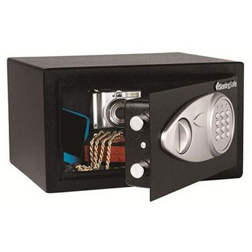 SentrySafe Security Safe, Medium Digital Lock Safe, 0.4 Cubic Feet, X041E