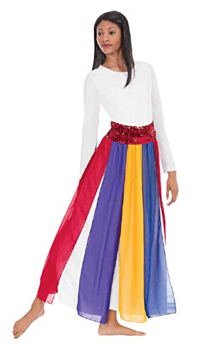 - Eurotard Adult Streamer Skirt 39808 MULTI-OSFA