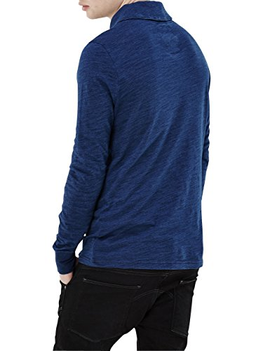 G-Star Herren Langarm-Shirt Strevor Ezra T-Shirt, Größe:XS;Farbe:Medium Aged (071)