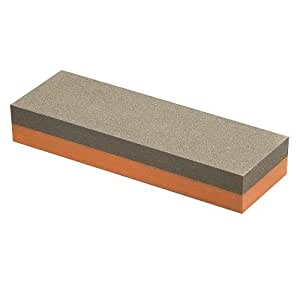 Norton 614636855653 IB8 1-by-2-by-8-Inch Fine/Coarse India Combination Oilstone, Red