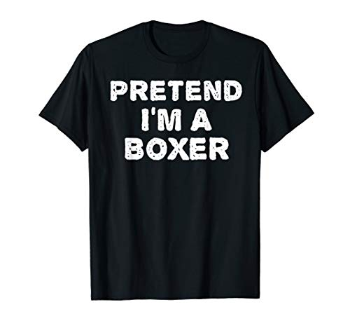Diy Boxer Halloween Costume (PRETEND I'M A BOXER Funny Halloween DIY Costume)