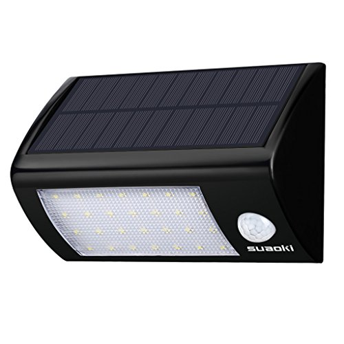 Suaoki 28 LED Solar Lights Super Bright Outdoor...