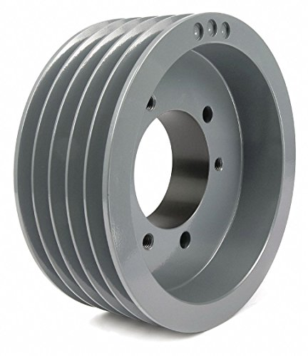 Quick Detachable Bushed Bore Standard V-Belt Pulley, For V-Belt Section: C, CX by TB Woods